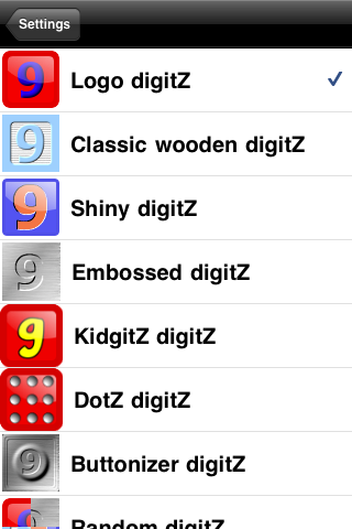 Screenshot 9DigitZ Lite